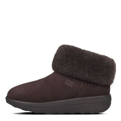 Fitflop Mukluk Shorty II Chocolate Velours