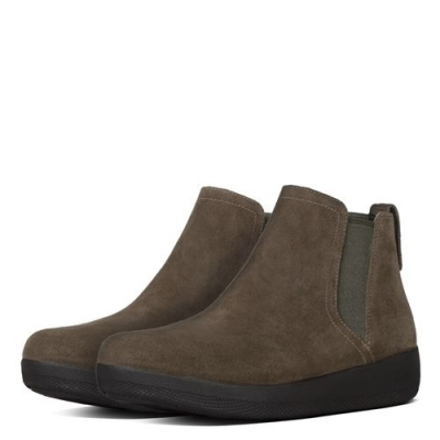 Fitflop Superchelsea Boots Bungee Cord Nubuck
