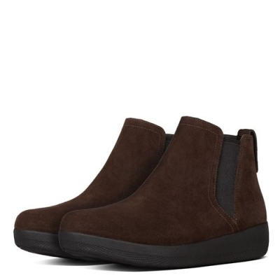 Fitflop Superchelsea Boots Chocolate Nubuck