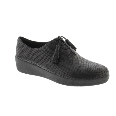 Fitflop Classic Tassel Superoxford Black Snake
