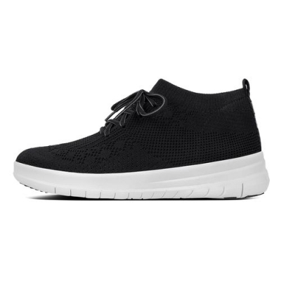 Fitflop F-Sporty Sneaker High Uberknit Black