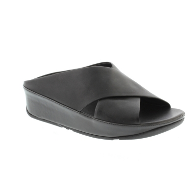 Fitflop Kys Slide Leather black