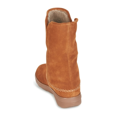 Fitflop Supercush Mukluk Suede Chestnut