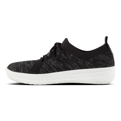 Fitflop F-Sporty Überknit Black/Charcoal