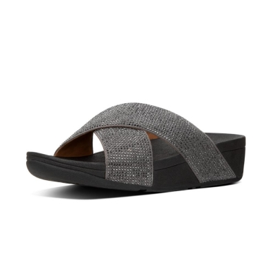 Fitflop Ritzy Slide Pewter