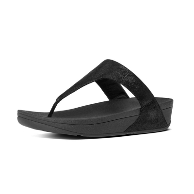 Fitflop Shimmy Suede Black