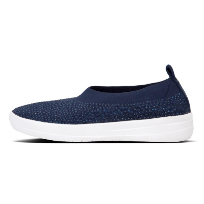 F-Sporty Uberknit Crystal Balerina midnight navy