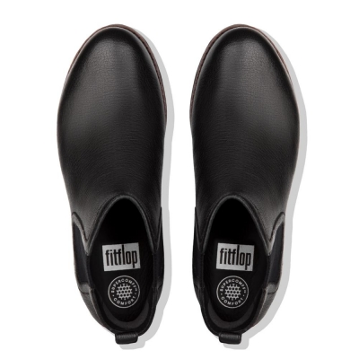 Fitflop Chai Leather Black