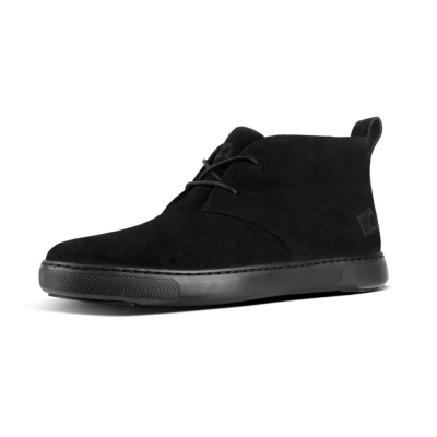 Fitflop Zackery Boot Suede Black