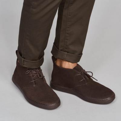 Fitflop Zackery Boot Suede Chocolate