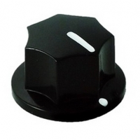 20mm MXR-style fluted knob - Black
