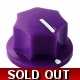 20mm MXR-style fluted knob - Purple