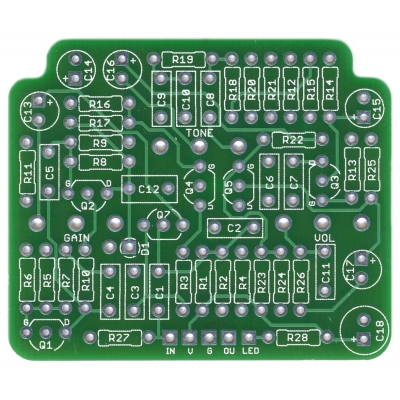 Figaro Drive - Brian May in-a-box PCB