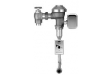 ZURN mains pressure sensor activated flush valve for wall hung urinal