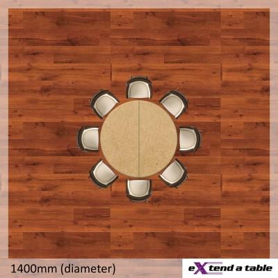 Round Folding Tabletop Extender