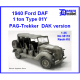 1940 Ford DAF 1.0 t Type 01Y PAG-Trekker DAK version 1/35