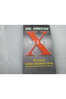 Dr. Greens Agent X Premixed Unisex Synthetic Urine with Heating Element & 3oz Container