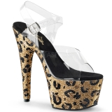 Bejeweled Leopard shoes