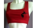 Sport bra with logo