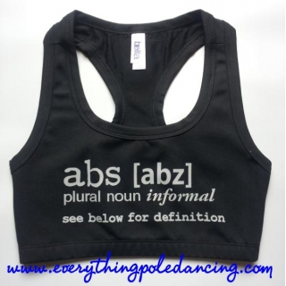 Abs crop top