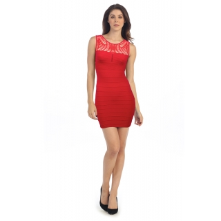 Web bandage dress