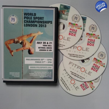 DVD 2013 World Pole Sports Championships