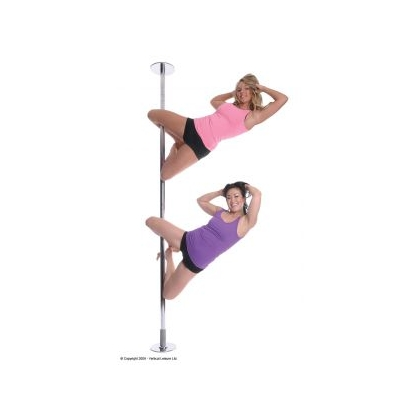 X-pole Sport Static Chrome Pole