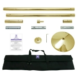 X-pole BRASS Expert Spinning Dance Pole