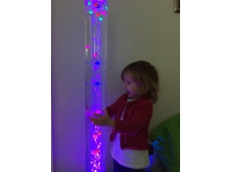 Double Tube Bubble Column - With remote control - 1.3m