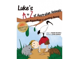 Luke's A to Z of Australian Animals Coloring Book