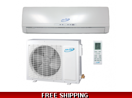 AirCon 9000 BTU 22 SEER Platinum Series Mini Split Heat Pump AC