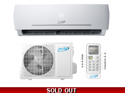 AirCon 18000 BTU 23.3 SEER 220v Blue Series 2 Mini Split Heat Pump AC
