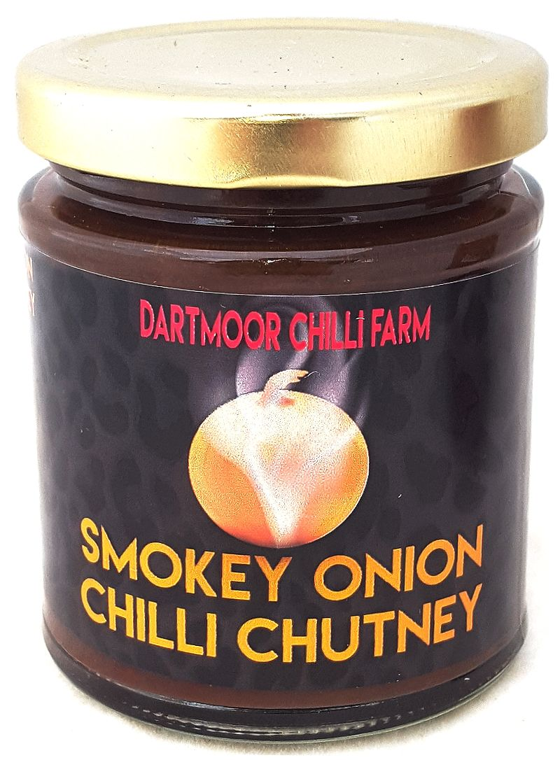 Smoky onion chilli chutney
