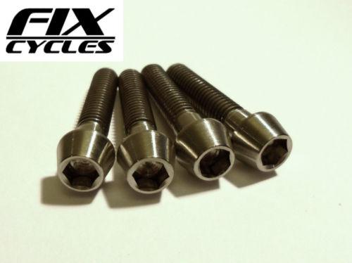 Titanium Ti M6 x 29 mm Taper Head Bolt
