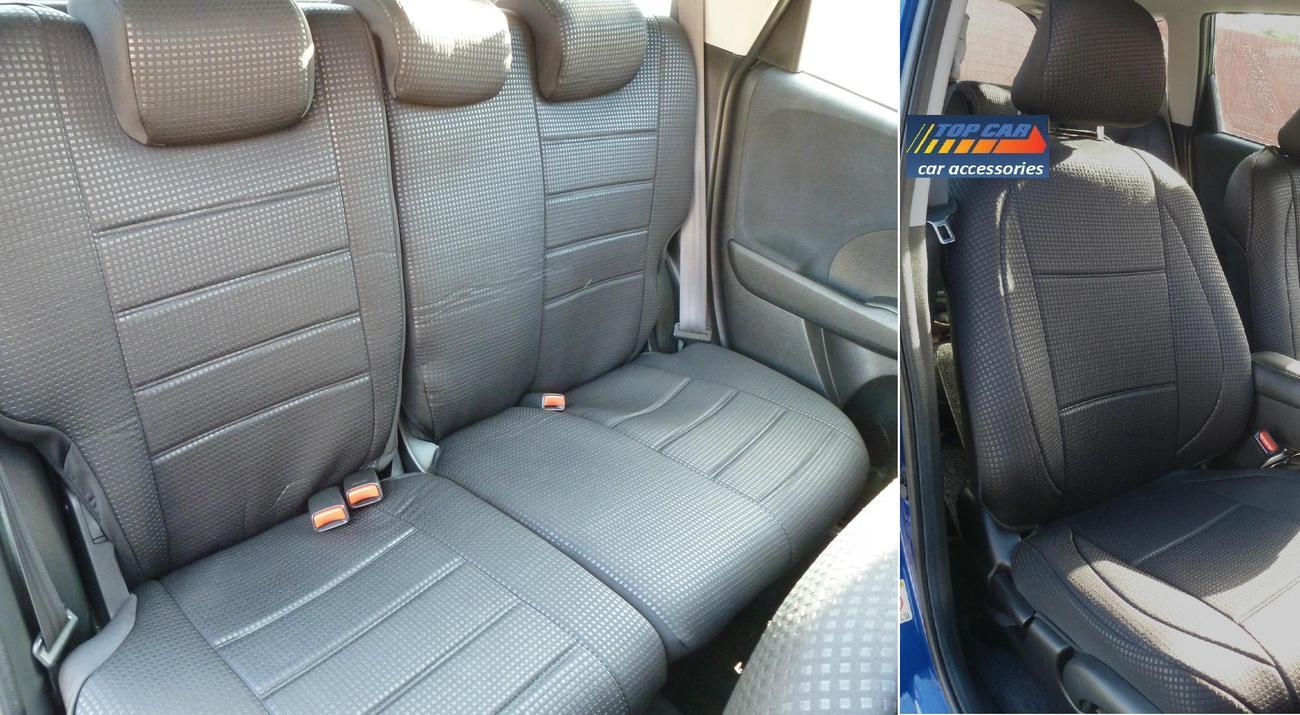 HIGH QUALITY CUSTOM CAR SEAT COVERS FOR HONDA FIT & HONDA JAZZ