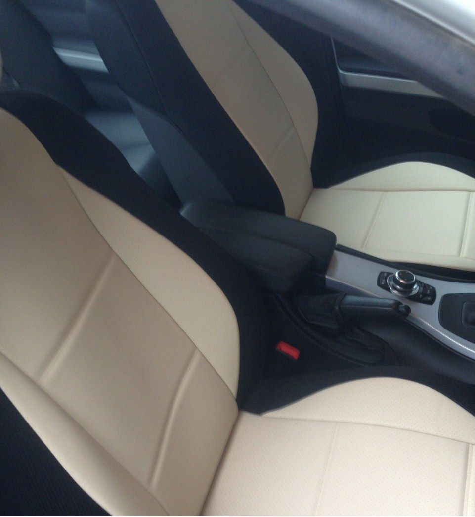 For Smart Fortwo Leatherette Car Seat Covers With