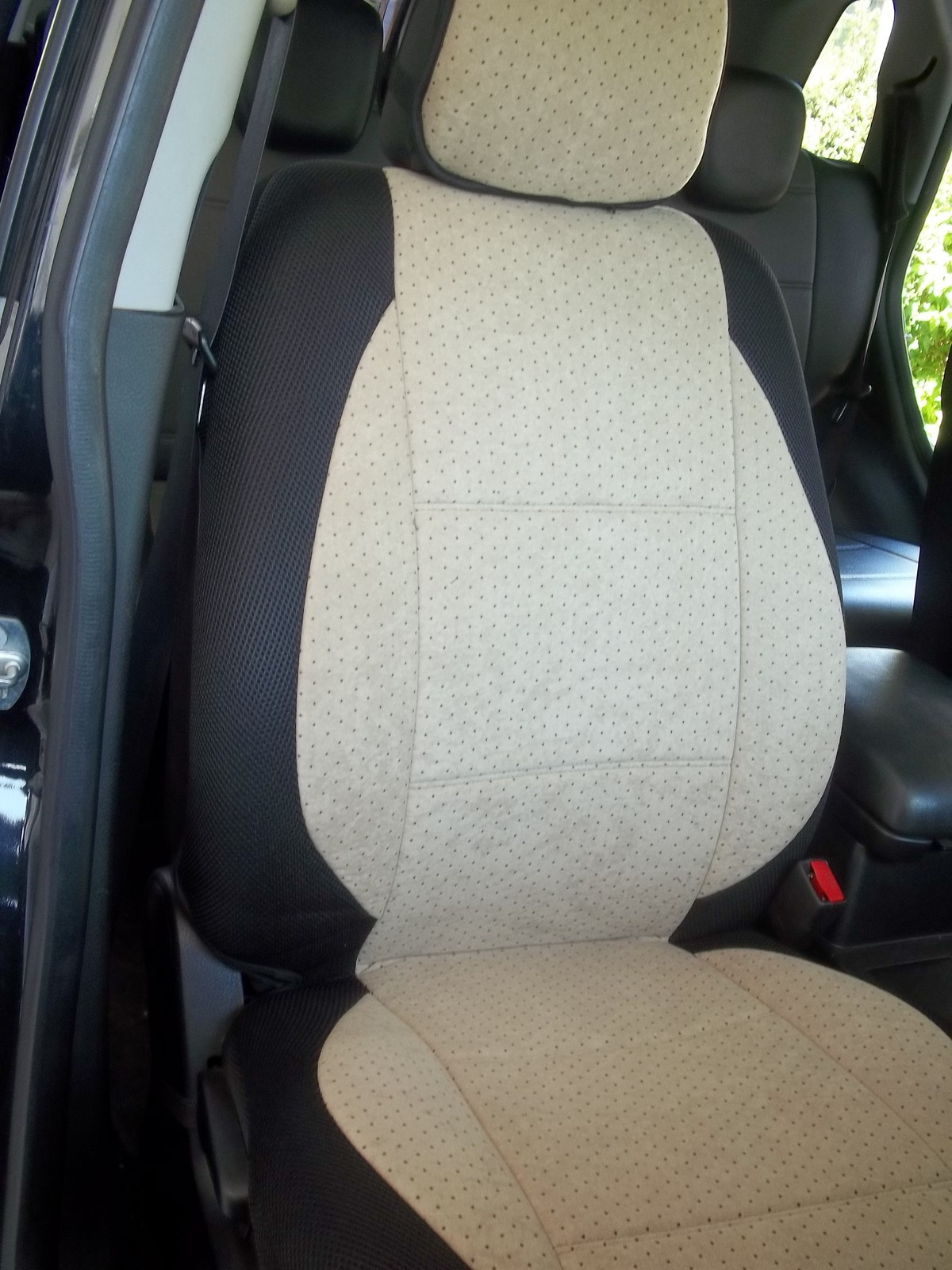 Fits On Mazda 3 6 Seats Custom Velour Two Front Car Seat Covers