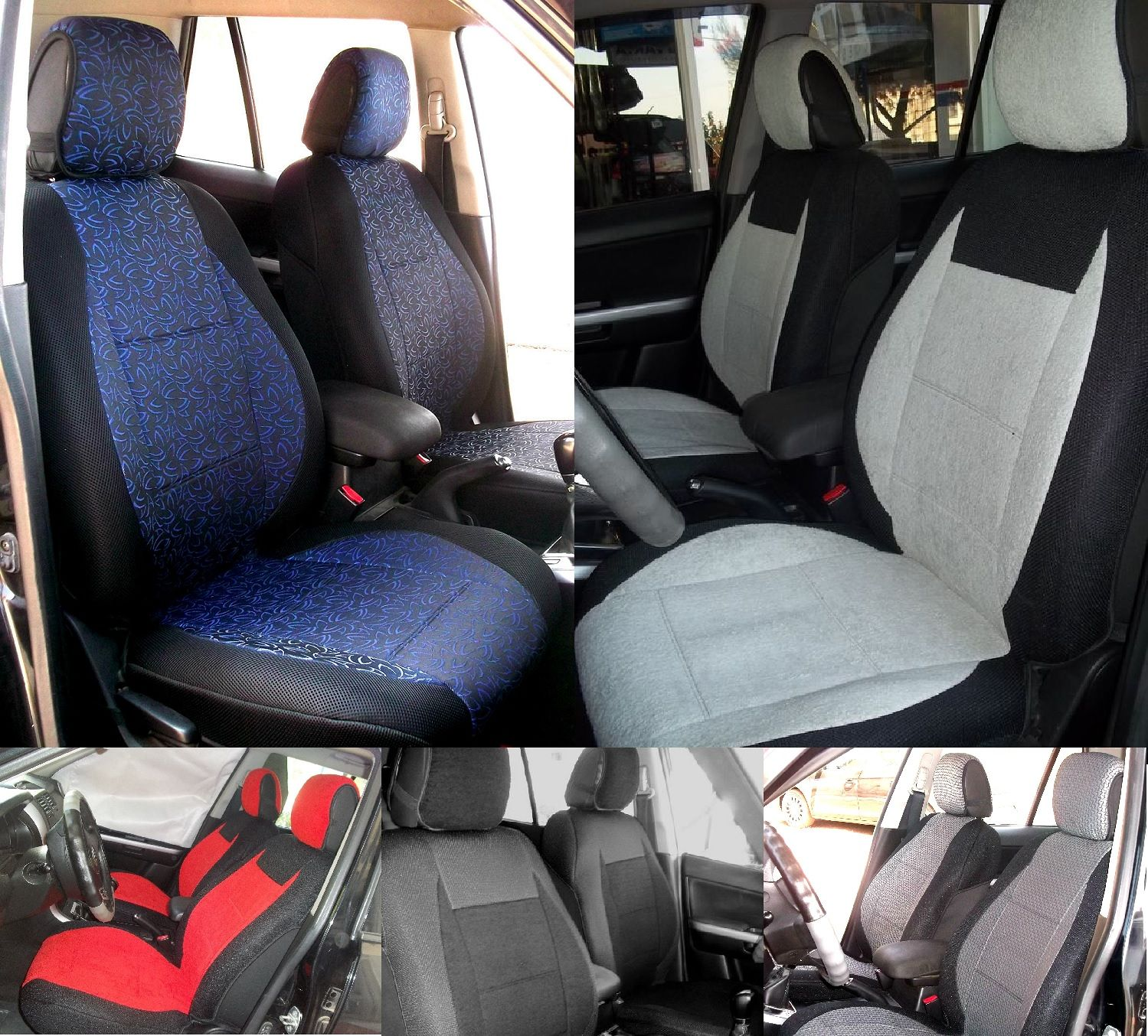 HIGH QUALITY CUSTOM CAR SEAT COVERS