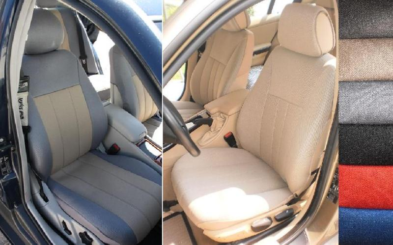 For Mercedes C Class 100 Custom Fit Synthetic Front Seat