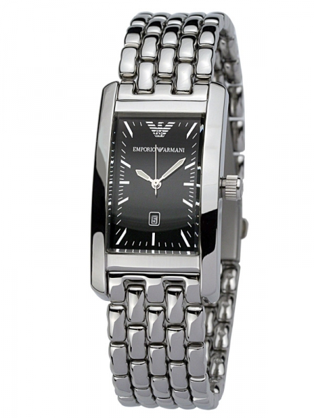 Emporio Armani Ar0115 Stainless Steel Mens Classic Watch