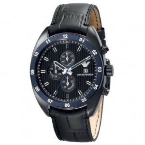 finest selection 36d61 81ea0 Emporio Armani AR5916 Mens Navy Chronograph Watch