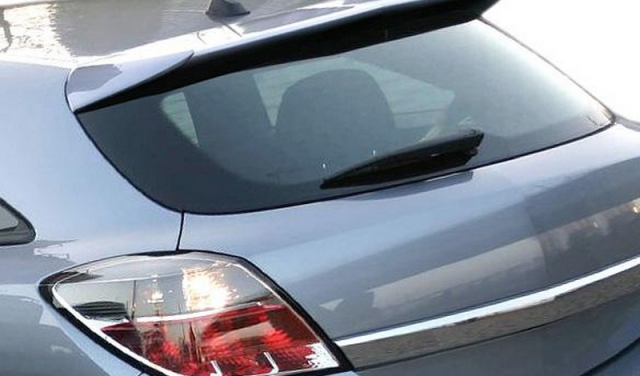Opel Vauxhall Astra H 3drs Yrs 03 09 Rear Window Roof Spoiler