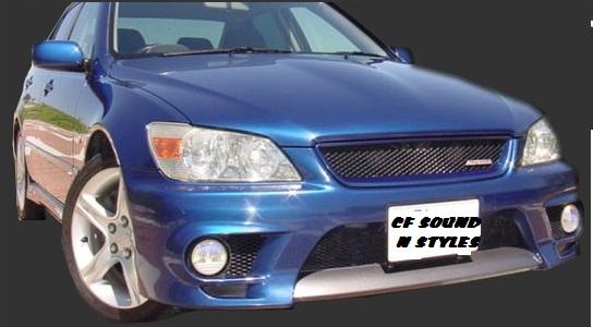Lexus Is200 Trd Front Bumper W Carbon Lip Amp Foglights