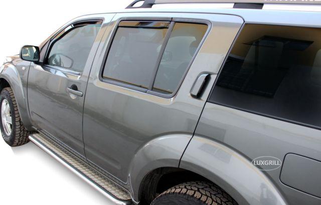 Nissan Pathfinder R51 Yrs 05-12 Brand New Heko 4 Piece Wind Deflectors