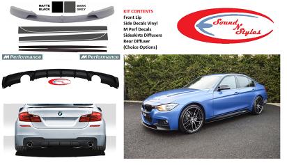 Bmw 3 Series F30 Yrs 11 M Performance Lip Kit Front Rear Sides