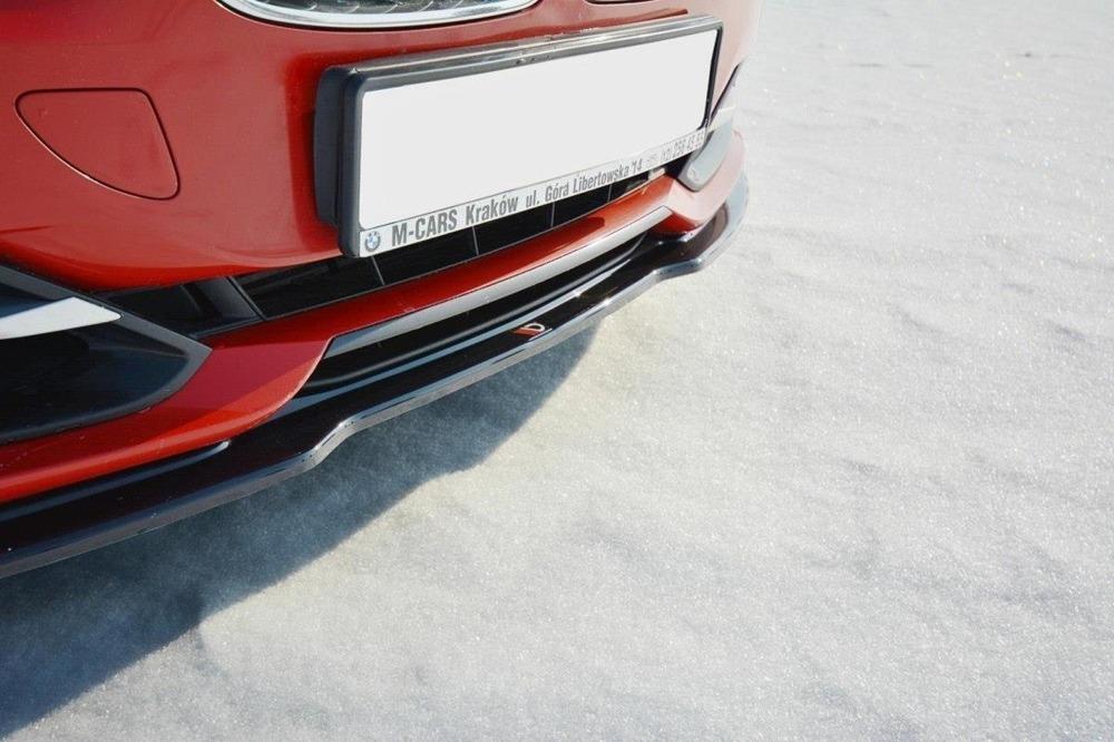 newest 849db 0ff3e BMW F30 3 Series SE Models, Maxton Front Bumper Splitter/Lip Plastic