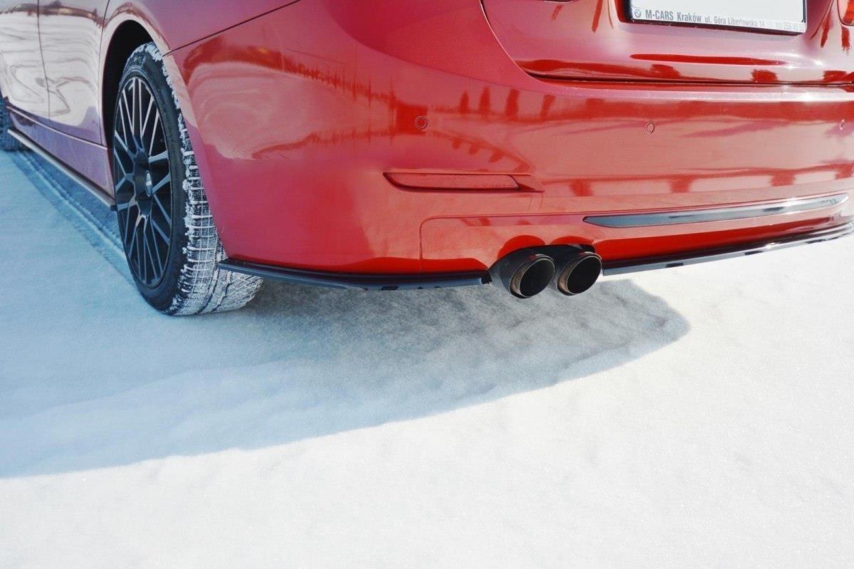 quality design 2dd64 336d5 BMW F30 3 Series SE Models, Maxton Rear Bumper Splitter/Lip Plastic Spats