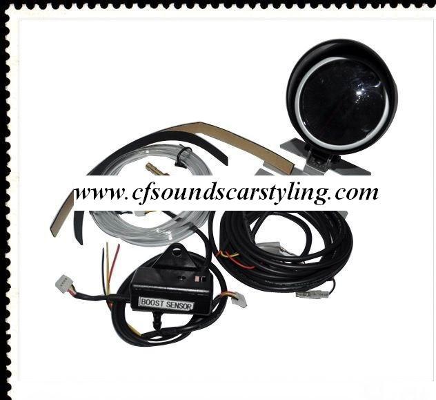 Defi Style Turbo Boost Gauge 60mm Stepper Incl Mount Amp Sensor
