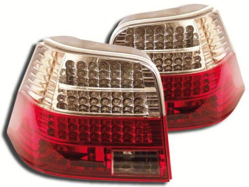Vw Golf Mk4 Yrs 98 04 Crystal Led Tail Lights Rear E Marked