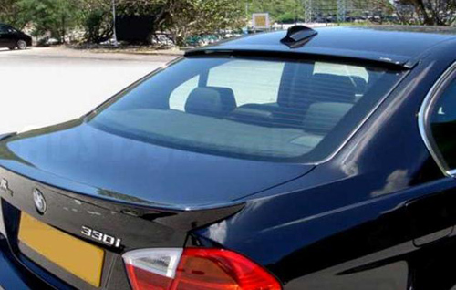 Bmw E90 3 Series Yrs 05 09 Ac Rear Window Roof Spoiler Cover Plastic
